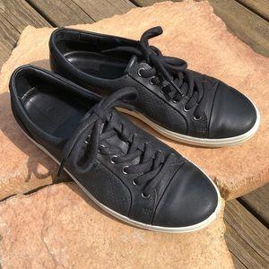 dc8871d08 Ecco. Ecco Black Leather Soft 7 Sneakers